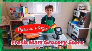 Melissa and Doug Fresh Mart Grocery Store