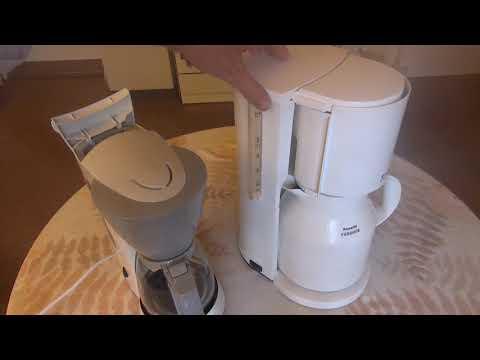 Functional testing  Coffeemaker MELITTA Single 5 + Rowenta Robusta Kaffeemaschine