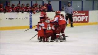 4-й гол Локомотива-2000 в ворота Крыльев