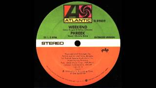 Phreek ft Christie Shire - Weekend (Extended Version) Atlantic Records 1978