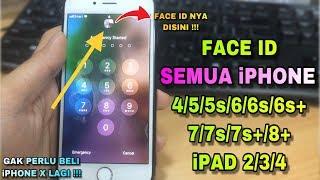 CARA MEMBUAT APLIKASI FACE ID DI IPHONE 4, 5 ,5s ,6, 6s, 6s+, 7, 7s, 7s+ ,8 DAN IPAD TERBARU 2019 !!
