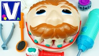 👦 Плей До мистер Зубастик Играем в стоматолога c Плей До Зубастик PlayDoh Dr. Drill and Fill