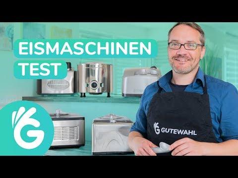 Eismaschine Test – Emma, Unold und weitere mit Kompressor