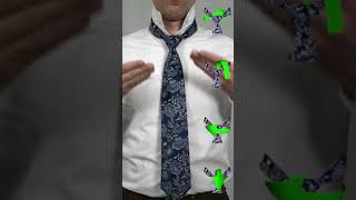How to Tie a Half Windsor Knot [vertical video]