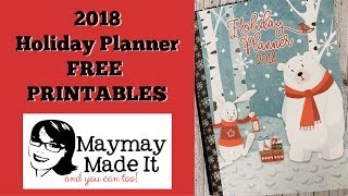 Holiday Planner 2018 FREE PRINTABLE
