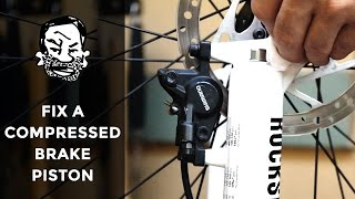 Oops! Fix (most) hydraulic disc brakes