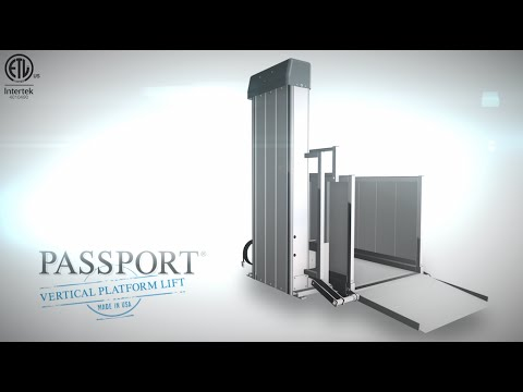 Thumbnail of the Product Overview - PASSPORT® Vertical Platform Lift | EZ-ACCESS video