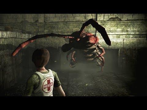Resident Evil 0 HD Remaster: All Bosses and Ending (4K 60fps)