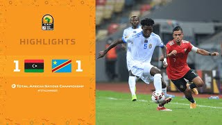 CHAN 2020 | 1er tour – Groupe B : Libyie 1-1 DR Congo