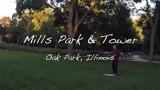FPV Drone Flight - Mills Park & Tower - Hubsan H501S