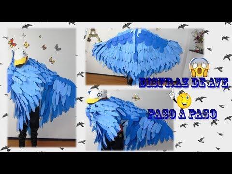Disfraz de ave/ bird costume - myriamsilla hernandez