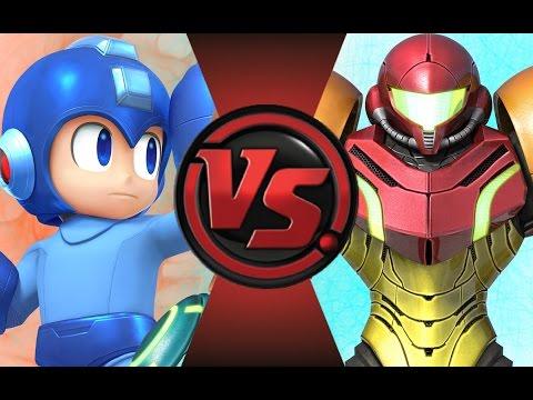 MEGAMAN vs SAMUS ARAN! (Nintendo vs Capcom) Cartoon Fight Club Episode 84