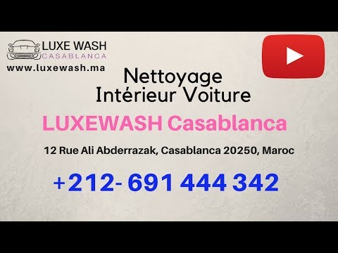nettoyage interieur voiture comment nettoyer sa voiture lavage professionnel par luxewash. Black Bedroom Furniture Sets. Home Design Ideas