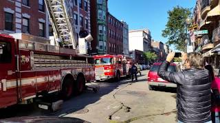 Boston Fire respond to North End