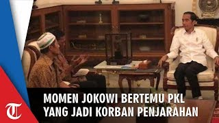 Momen Jokowi Bertemu Korban Penjarahan, Rajab Kaget Tiba-tiba Diminta Pakai Batik dan Bertemu Jokowi
