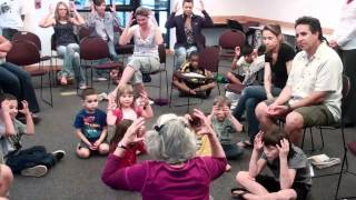 3 - 5 year olds meditating - Wow! Kids Focus!