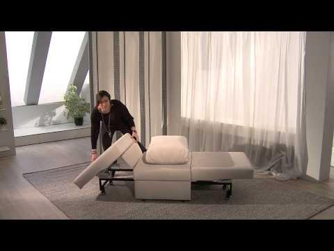 Schlafsessel Una mit drei Funktionen von SofaOnline24.de