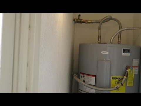 Como instalar un calentador de  agua electrico