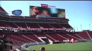 San Francisco 49ers Unveil New Tech At Levi's Stadium (Part 1)