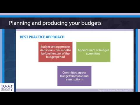 Budgeting skills course - budgeting management for non profit ...