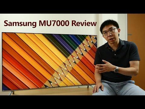 Samsung 55-inch MU7000 (MU8000) Review: 4K, HDR, Gaming