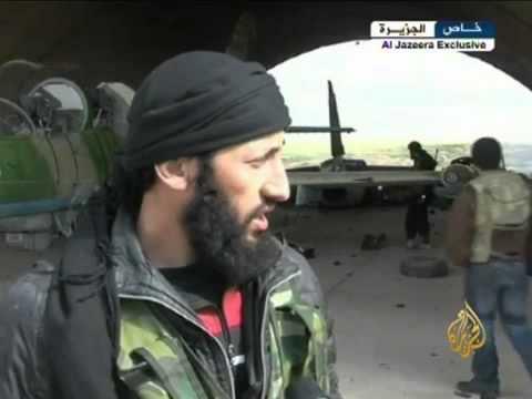 الجيش الحر يسيطر على مطار الجراح العسكري بريف حلب