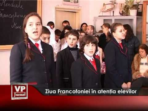 Ziua Francofoniei în atenţia elevilor