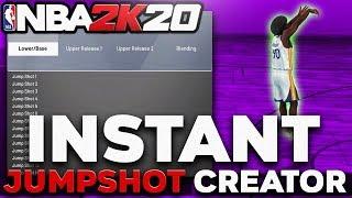 * INSTANT * NBA 2K20 JUMPSHOT CREATOR GLITCH/METHOD! HOW TO UNLOCK JUMPSHOT CREATOR!