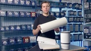 """Проветриватель Blauberg Vento Expert A50-1 Pro от компании ООО """"КЛИМАТ-ПРОФИ"""" - видео"""