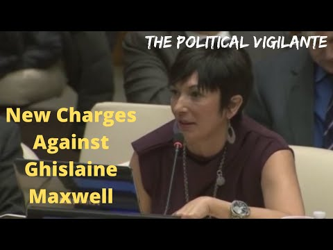 Ghislaine Maxwell New Charges Shows 20yrs Sex Trafficking