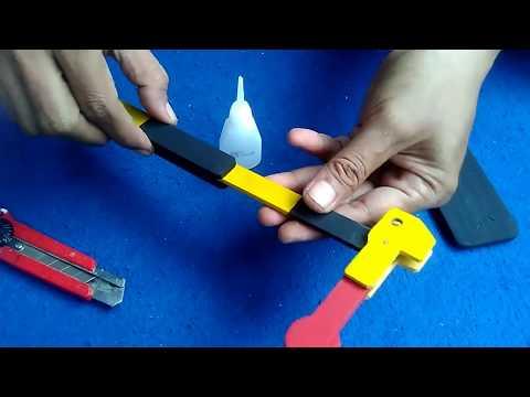 Kereta api mainan kayu [ Cara membuat sinyal/signal sederhana ]