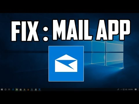 Fix error code 0x80040154 when opening the Mail app on