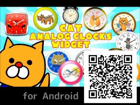 Video of Cat Analog Clocks Full ver.