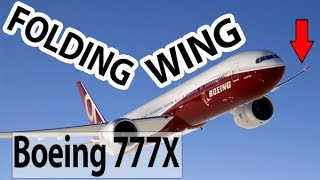 Why does the Boeing 777X fold it's wings?!