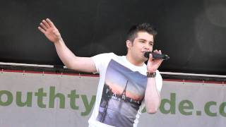 Joe McElderry - Bents Park 240711 - Fahrenheit