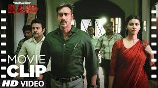 Raid Mey Kuch Nhi Mila!   Raid   Movie Clip   Ajay Devgn   Ileana D'Cruz