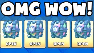 Clash Royale ALL LEGENDARY CHEST OPENING GUARANTEED LEGENDARY CARDS NEW UPDATE CHEST GAMEPLAY