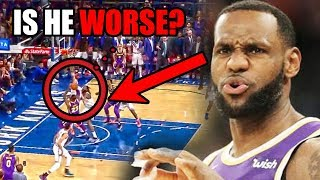 Has LeBron James Gotten WORSE? (Ft. Some Layups, Lakers, NBA Defense, and Old Highlights)
