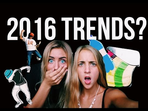 Trying every 2016 trend