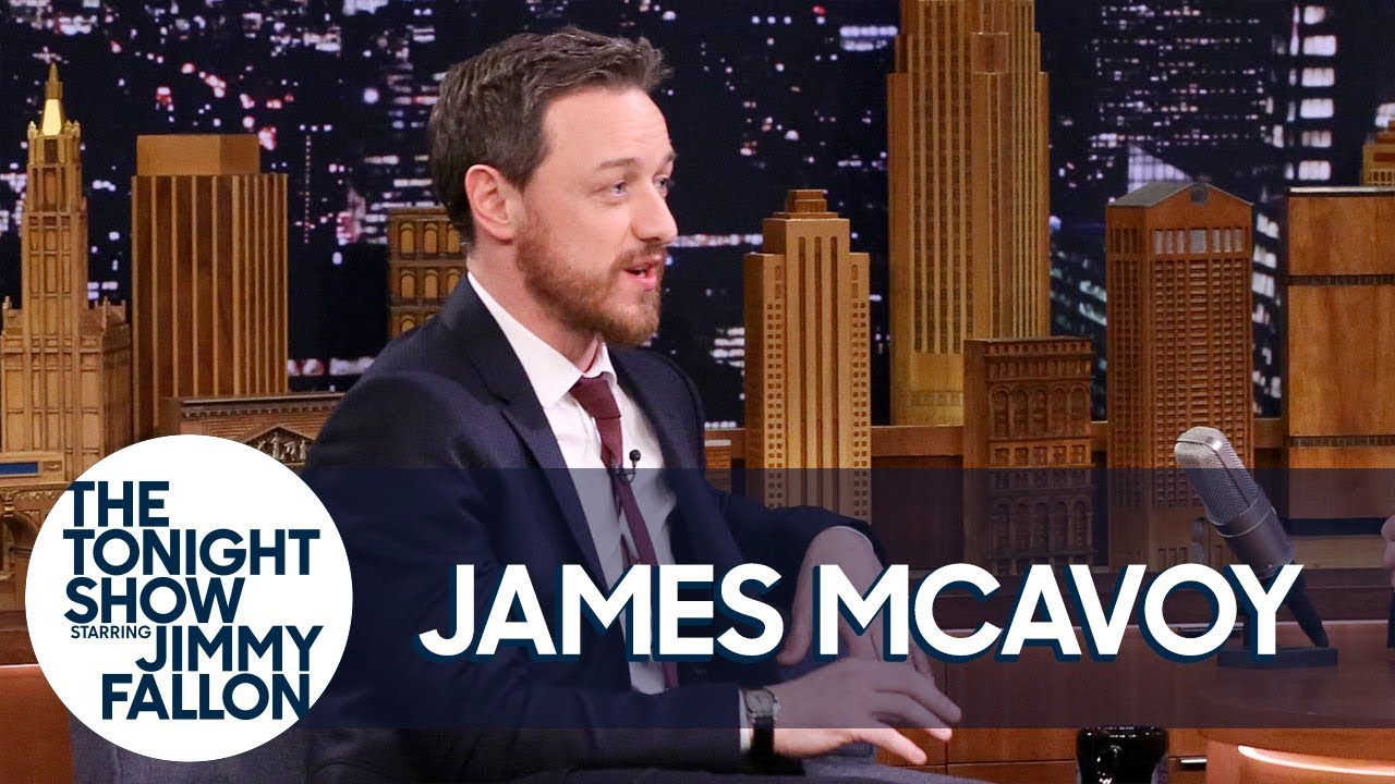 James McAvoy Watched Wanted in Jennifer Lawrence's PAW Patrol Sleeping Bag thumbnail