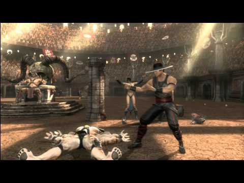 MK9 story mode Chapter 11: Kung Lao cutscenes