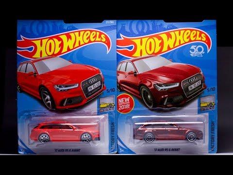 Lamley Super Showcase: Hot Wheels Audi RS 6 Avant Super TH & M Case Highlights
