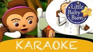 karaoke: Five Little Monkeys - Instrumental Version With Lyrics HD