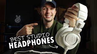 Audio Technica M50X Studio headphones - Best Headphones For Producers?? (2020)