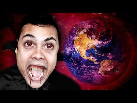 how a VAMPIRE took down EARTH (Plague Inc Evolved)