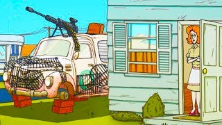 When You Find A Machine Gun For Your Ice Cream Truck in 60 Seconds Reatomized
