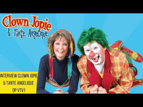 Interview Clown Jopie & Tante Angelique op VTV1 | JB Productions