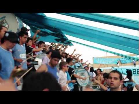 """""""LA ORQUEStA DE CÓRDOBA! Inicial 2012 - Fecha12 - BELGRANO 1 vs Unión 0"""" Barra: Los Piratas Celestes de Alberdi • Club: Belgrano"""