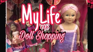 MY LIFE DOLL SHOPPING AT WALMART