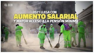 Mayor salario y pensión en 2021